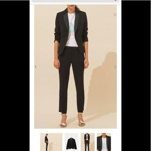 NWT BA&SH Black Kerry Blazer Size XS